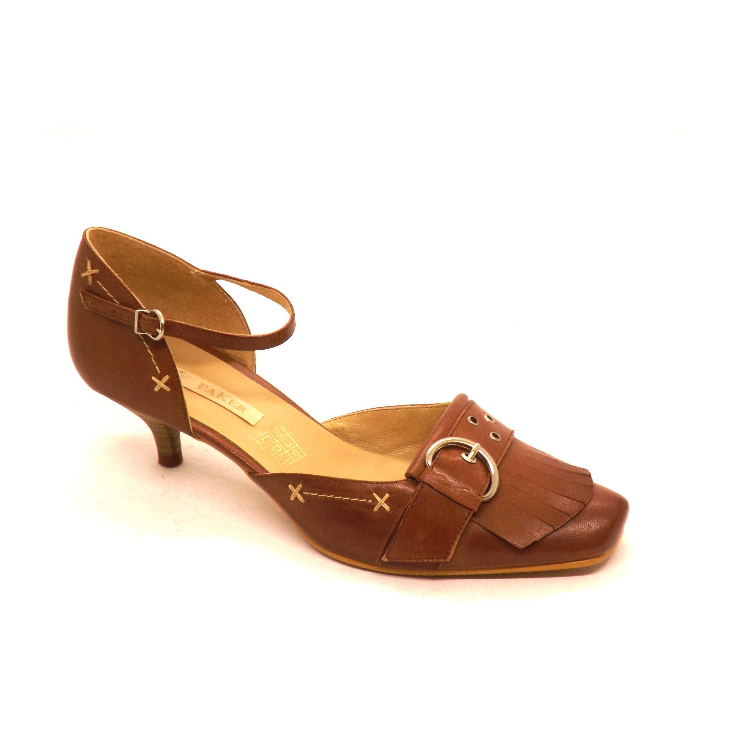 Zapato 28 Semi-cerrado paker