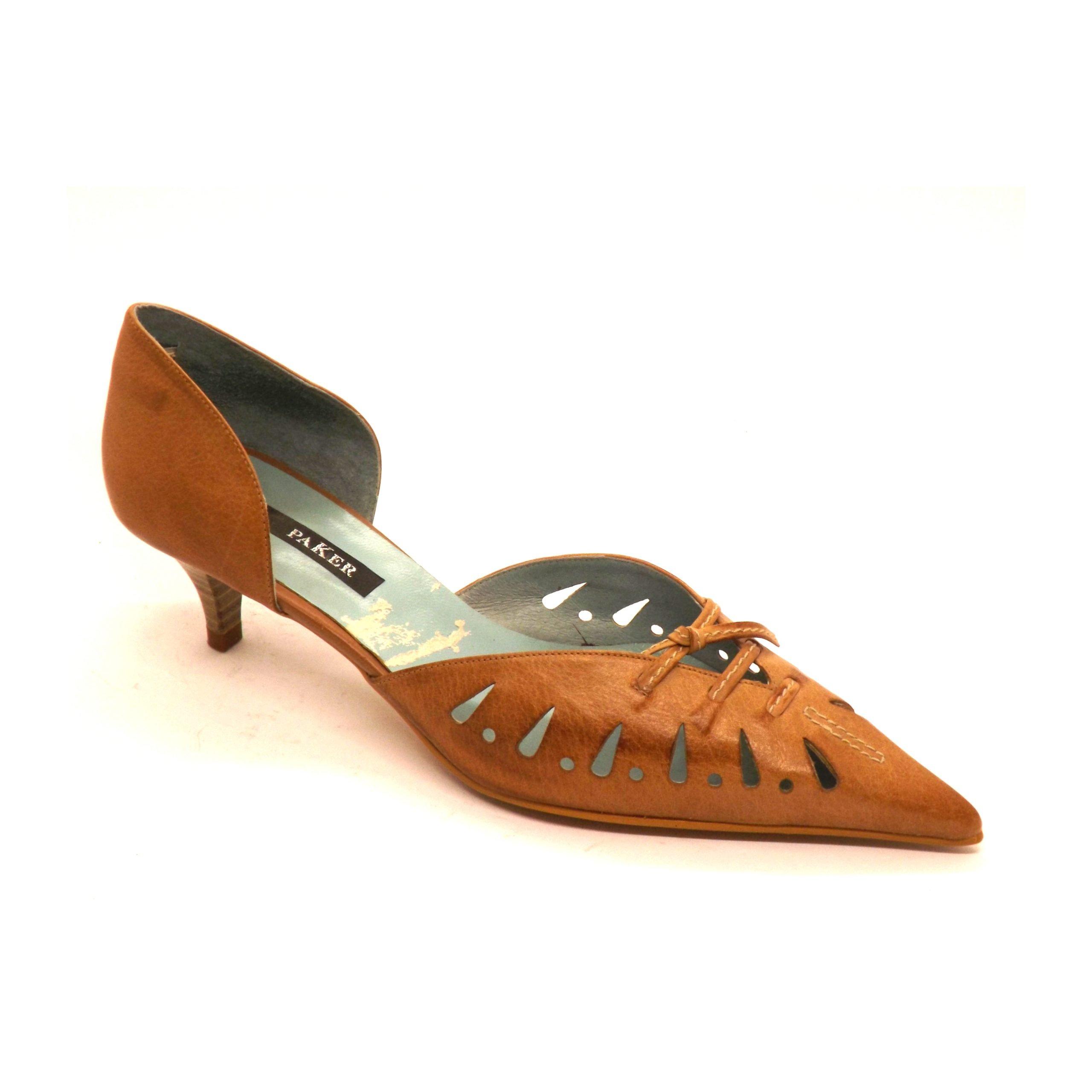 Zapato 16 semi-cerrado paker