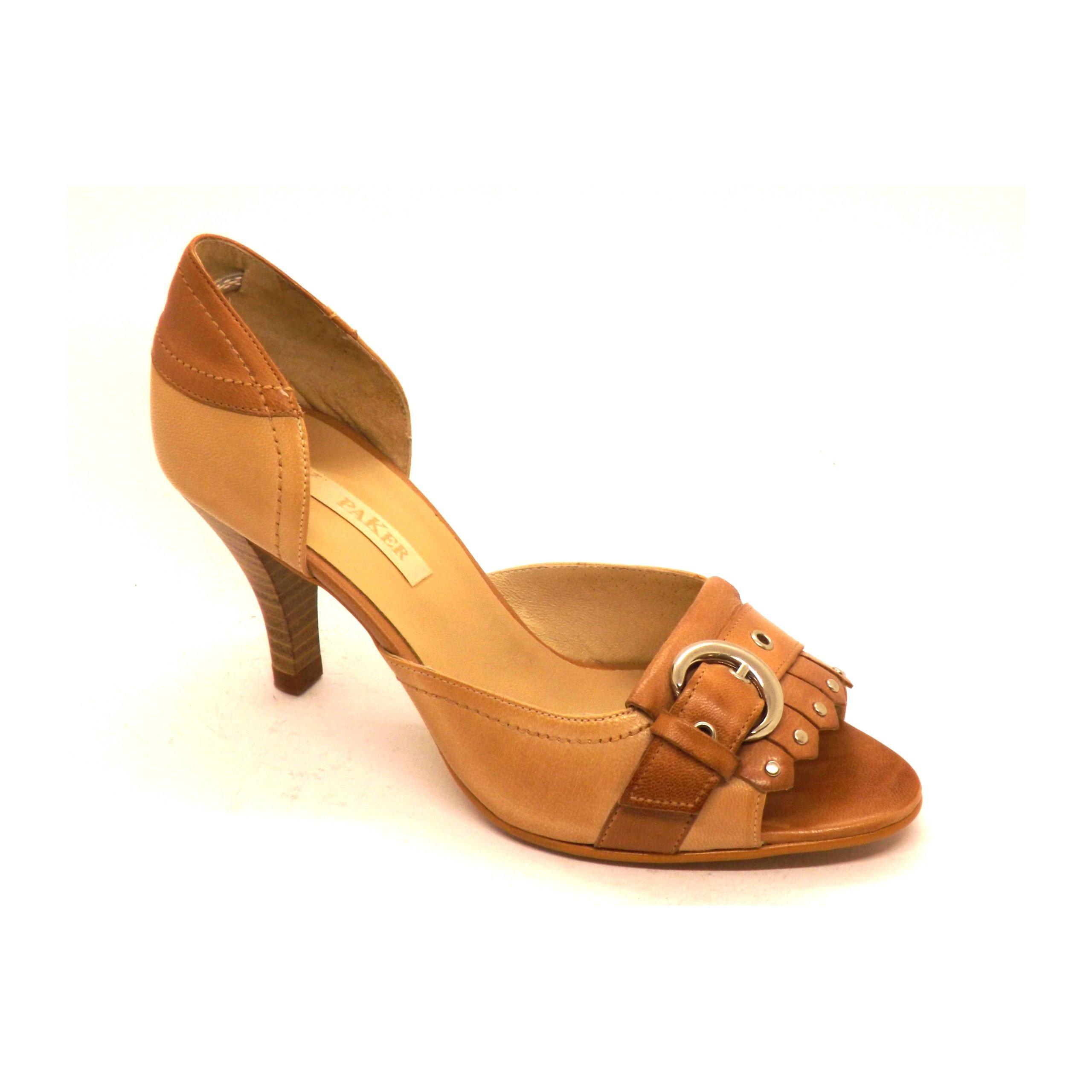 Zapato 26x semi-cerrado Paker