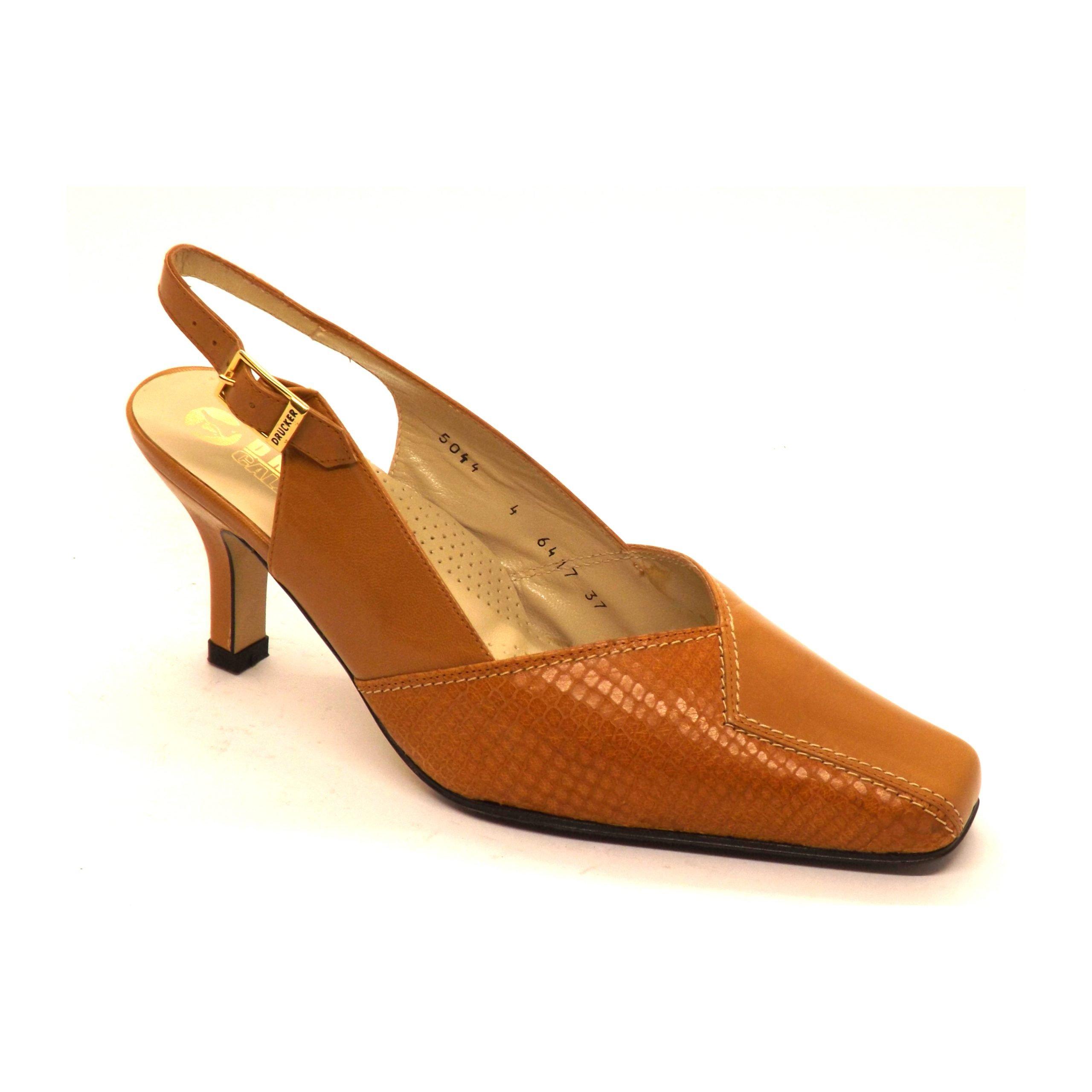 Zapato Drucker semi-cerrado