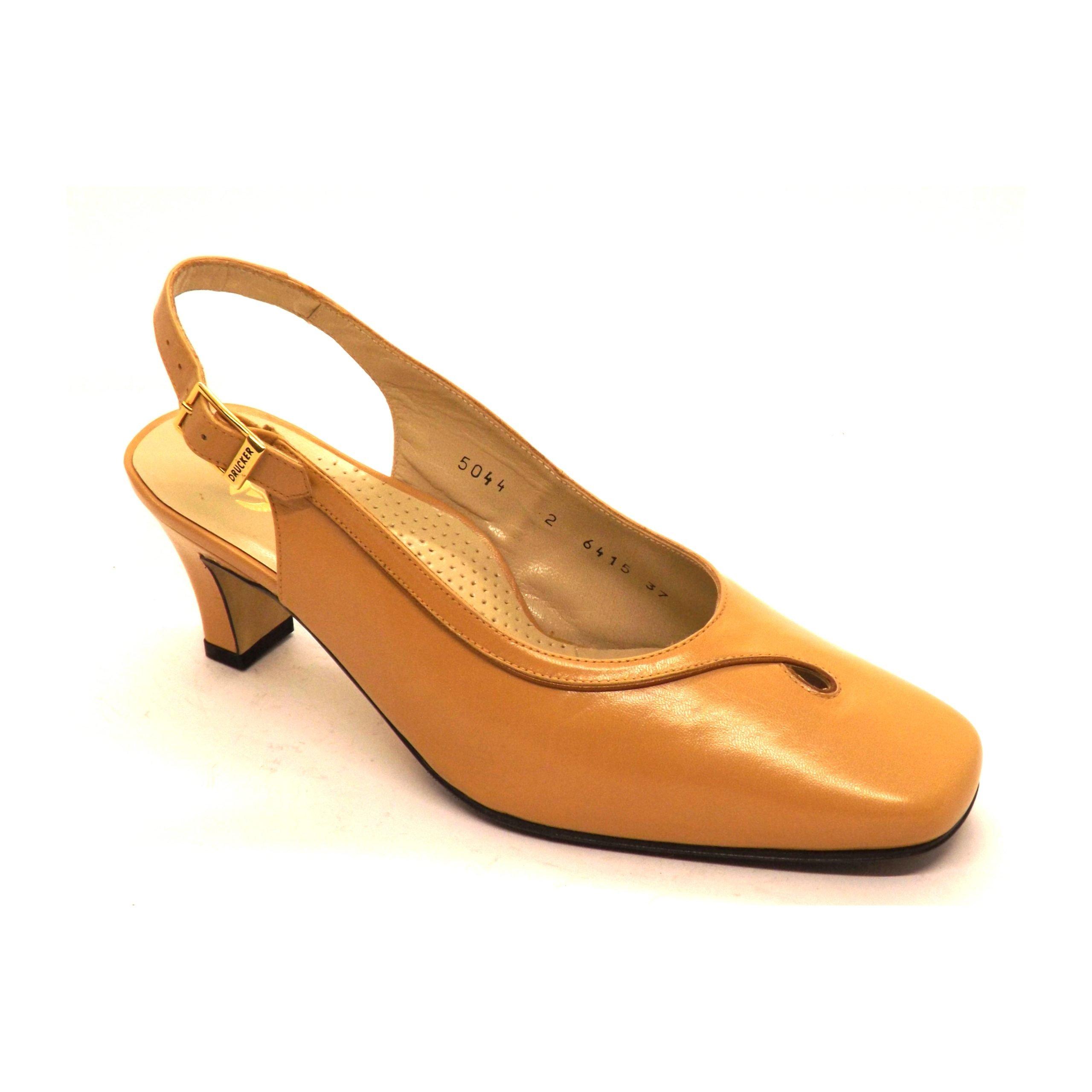 Zapato Drucker A-esp y semicerrado