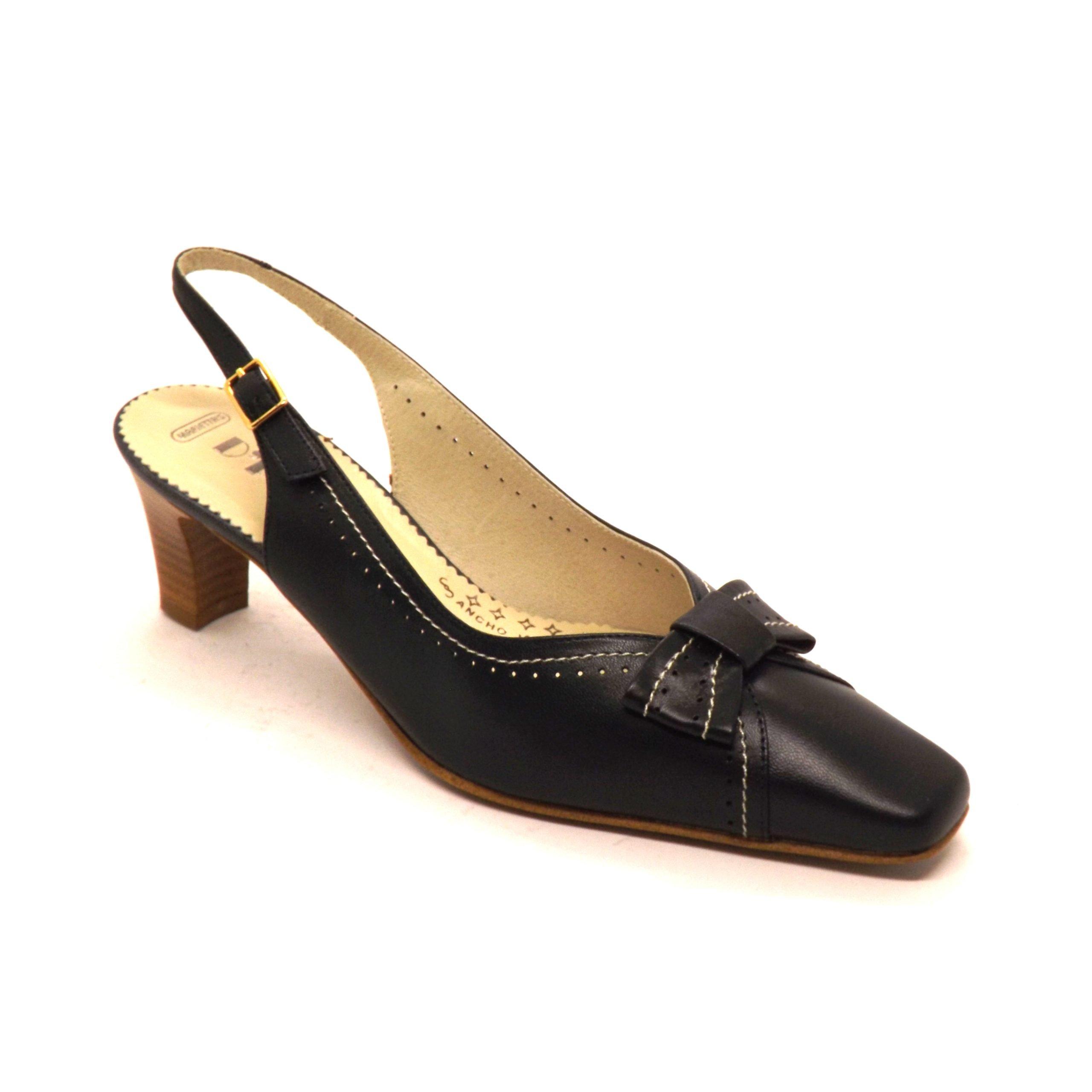 Zapato semi-cerrado D´Pell lazo