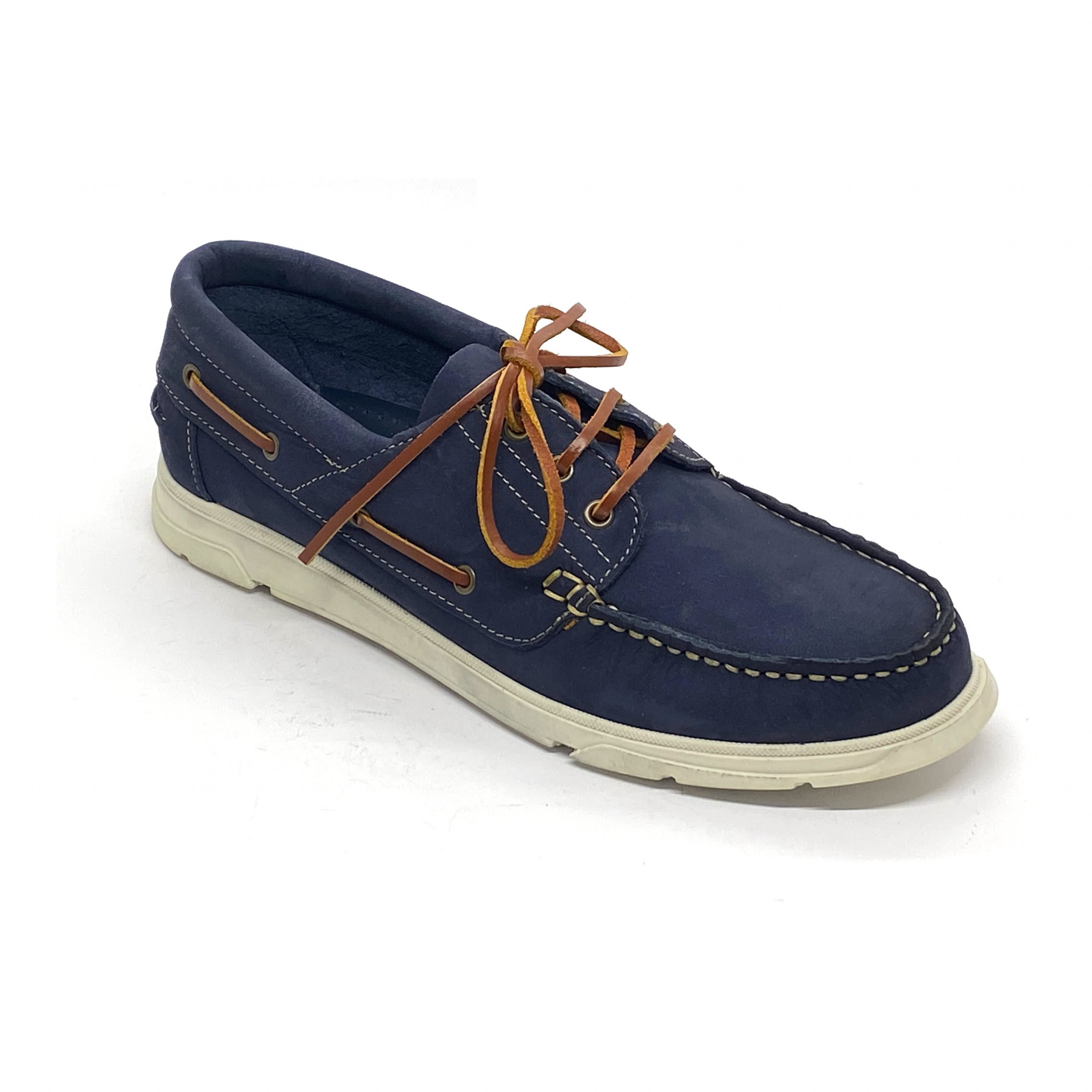 Náutico Nobuck Keelan Jeans/Taupe