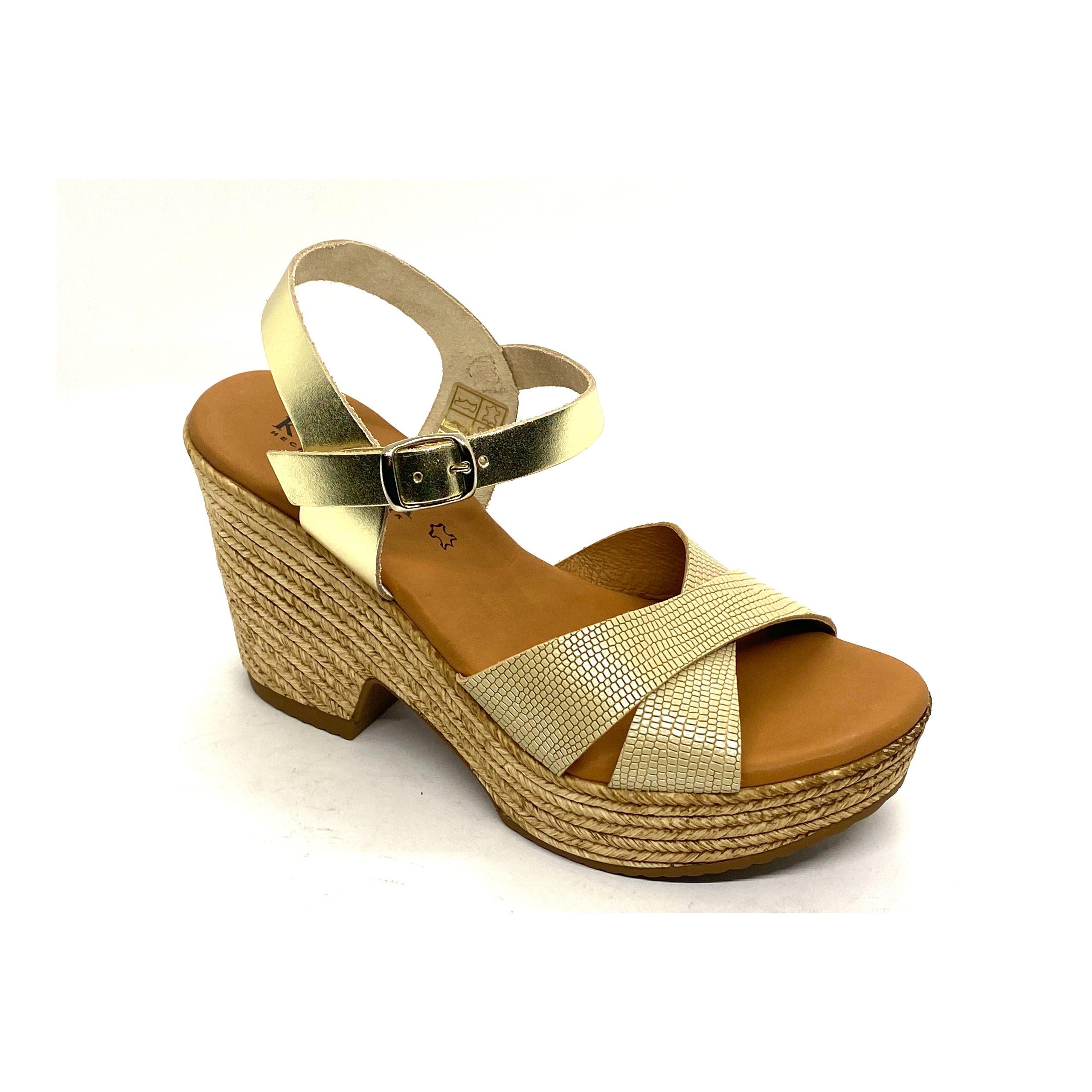 Sandalia de tacón Kelara