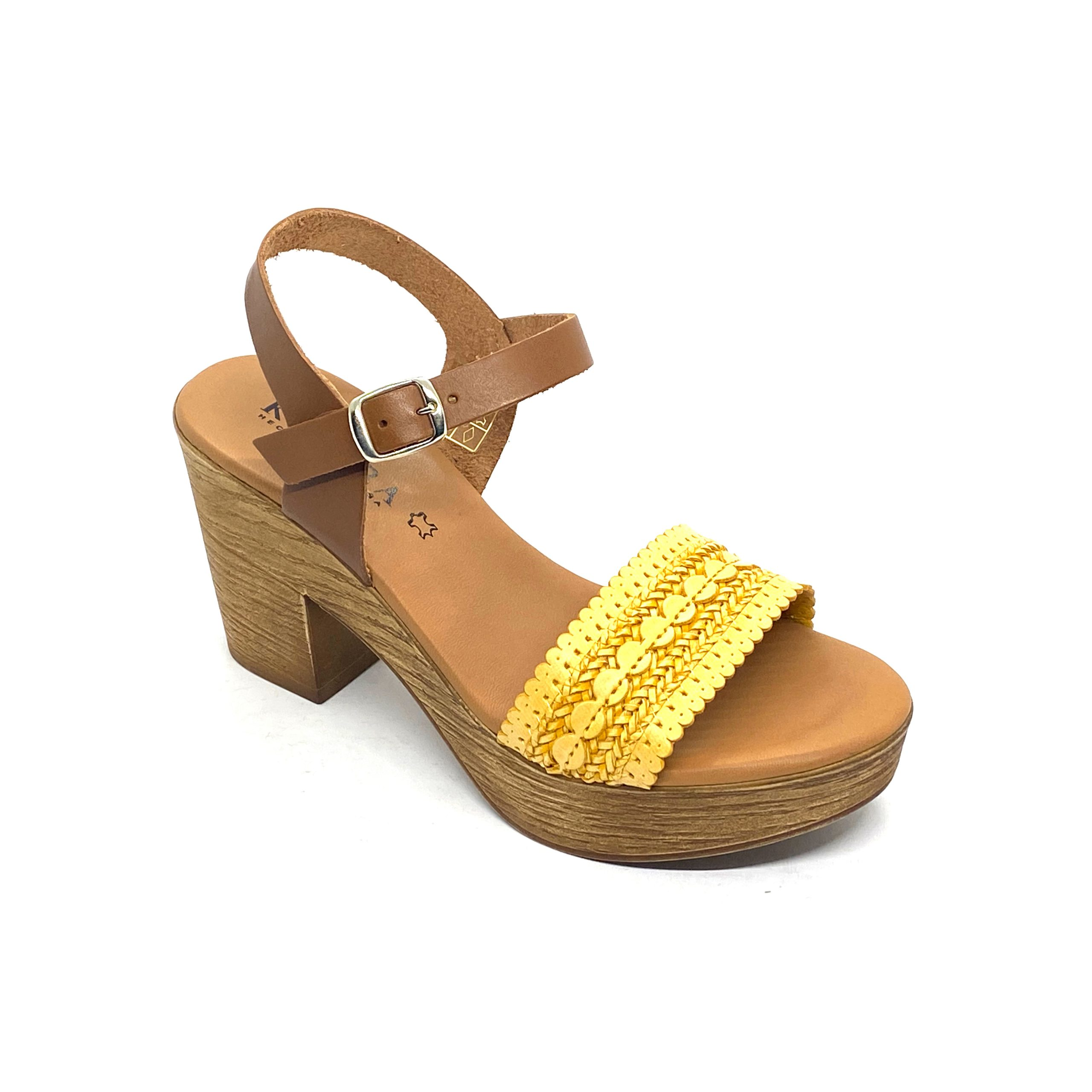 Sandalia de tacón Belén Kelara